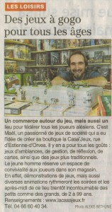 Article du Midi Libre